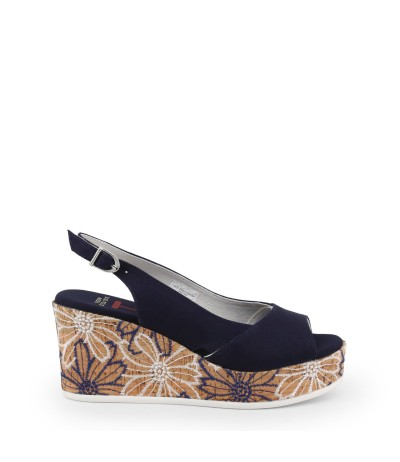 U.S. Polo Assn.  Cotton Wedge Espadrilles