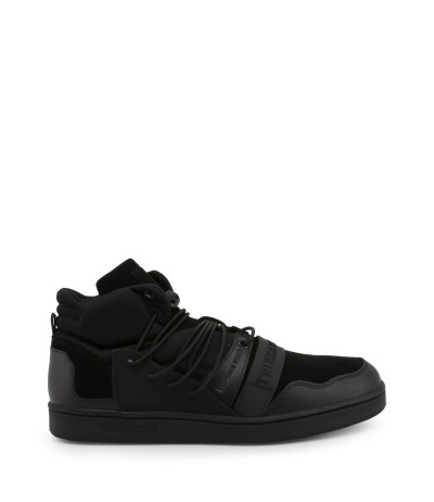 Trussardi High-top Trekking Sneakers - Black