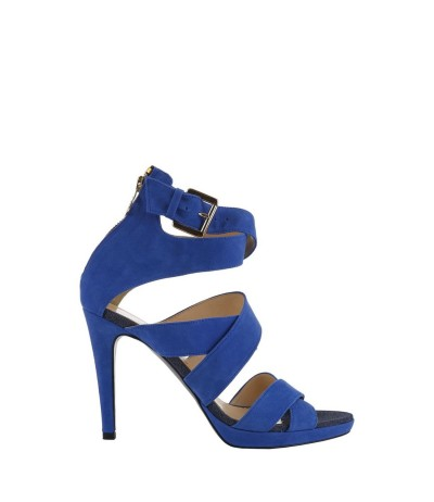 Trussardi  Womens  Heeled  Suede Sandals