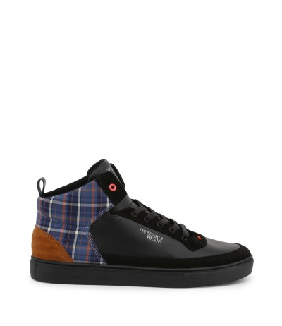 Trussardi High Top Men's Black Sneakers