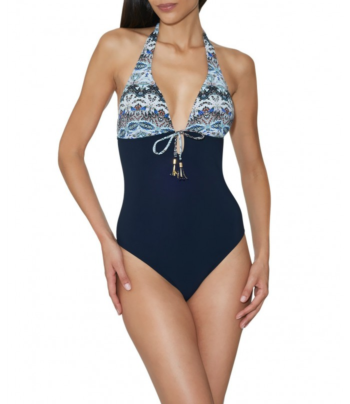 Exotic Waves One-Piece Swimsuit