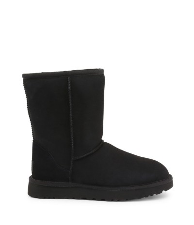 UGG Classic Short Shearling Boots - Black