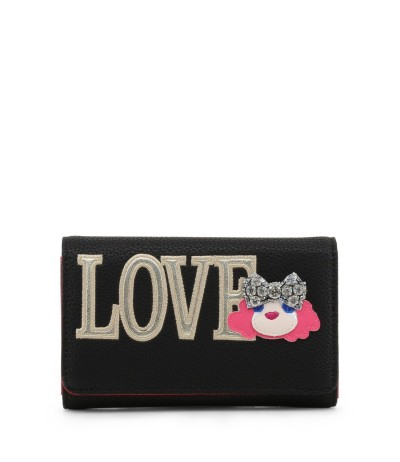 Love Moschino Charming Ladies  Clutch in black