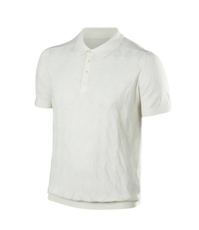 Men Natural Golf Polo