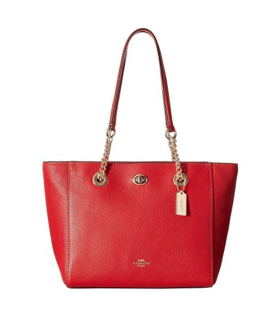 Coach Market tote bag with metal details