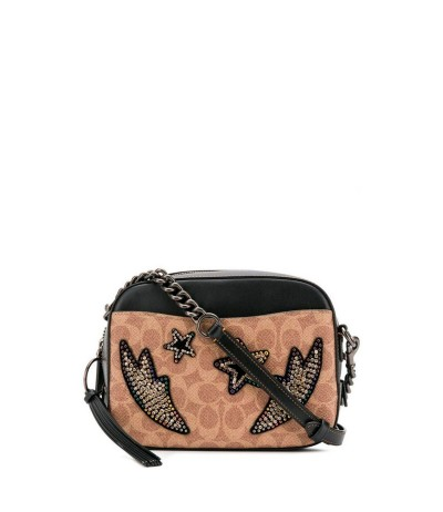 Coach Monogrammed Cross-body Bag