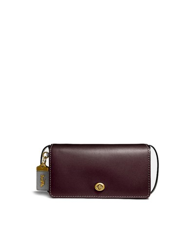 Coach   Women's Purple 'dinky' Colourblock Bag