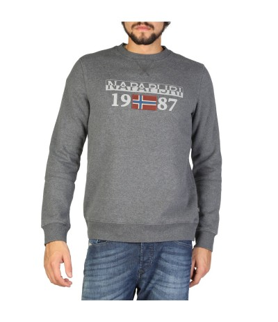 Napapijri Long-sleeve Fitted Sweatshirt