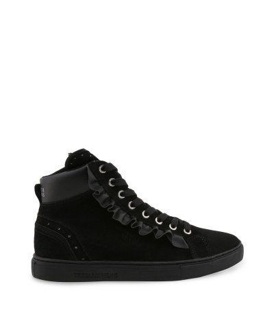 Trussardi High top suede sneakers