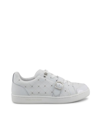 Trussardi White shoes with studs