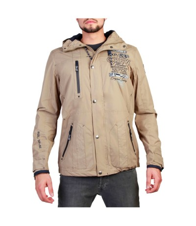 Geographical Norway  Clement Waterproof Jacket in Beige