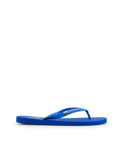 U.S. Polo Assn. Rubber Flip-flops With Contrast Logos