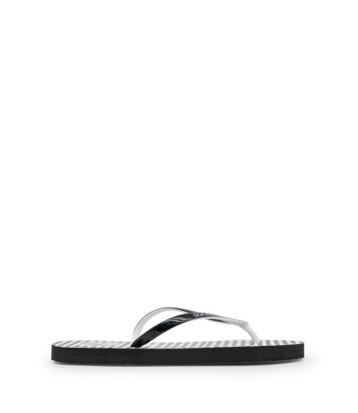 U.S. Polo Assn. Women's flip flop with Branded  straps