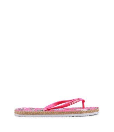 U.S. Polo Assn. Women's Slim Summer Flip - Flops - Multicolor