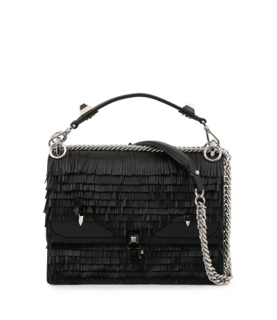 Fendi Shoulder Bag decorated Metal Details