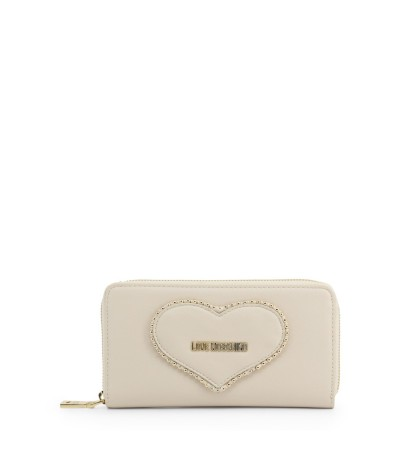 Love Moschino Zip around wallet with heart