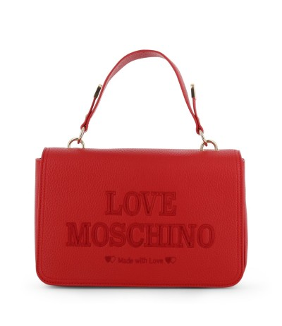 Love Moschino Medium Panelled Leather Cross-body Bag