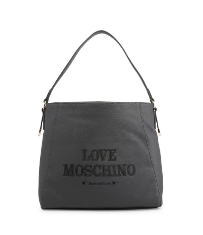 Love Moschino  Logo Engraved Crossbody Bag