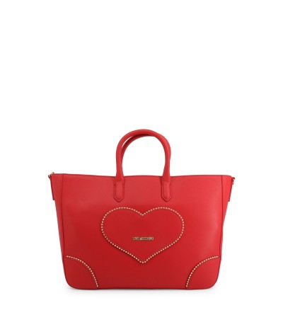 Love Moschino Cold Heart Shopping Bag