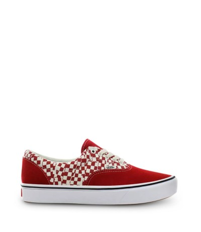 Vans ComfyCush Authentic Lapis Red & True White Sneakers
