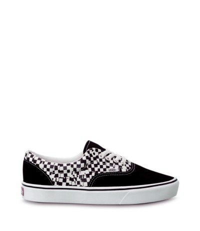 Vans White And Black Og Authentic Lx Sneakers