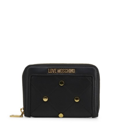 Love Moschino mini black  wallet