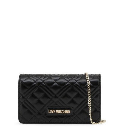 Love Moschino Small Quilted Bag Colour-Black