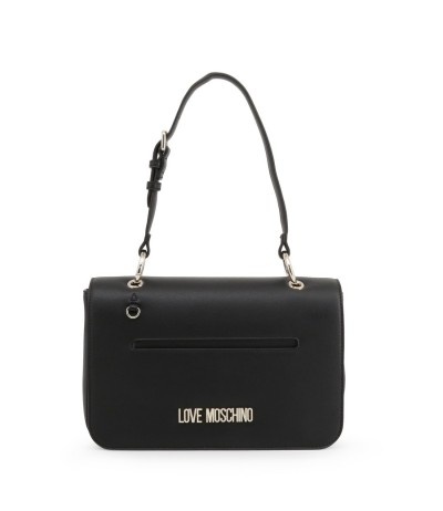 Love Moschino Convertible- Strap Shoulder Bag - Black