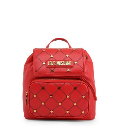 Love Moschino Women's Red Polyurethane Backpack