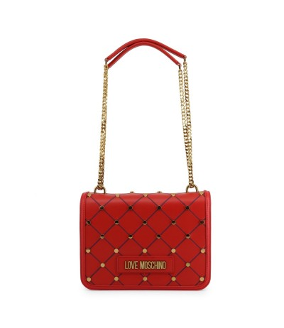 Love Moschino Mini bag with blue stitching