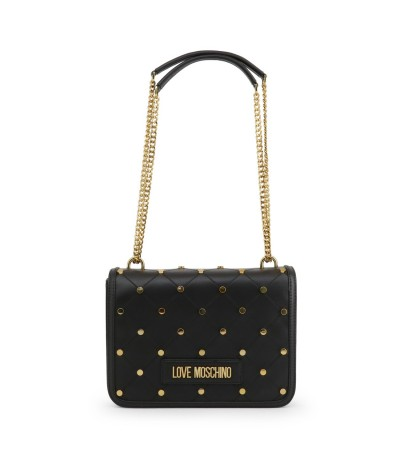Love Moschino Superquilted Eco-leather Shoulder Bag - Black