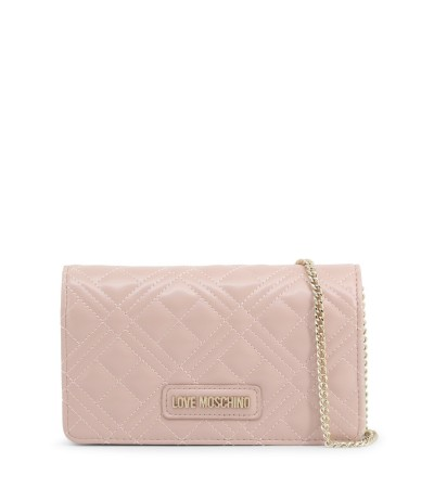 Love Moschino Ladies clutch with removable shoulder strap