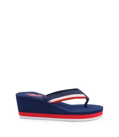 U.S. Polo Assn. Wedge Flip Flop - Multicolor