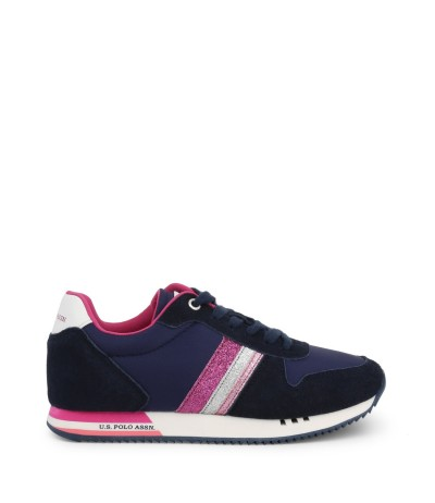 U.S. Polo Assn. Ladies Suede Sneakers