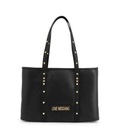 Love Moschino Shopper bag with studded straps