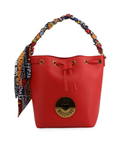 Love Moschino Eco Leather Small Bucket Bag