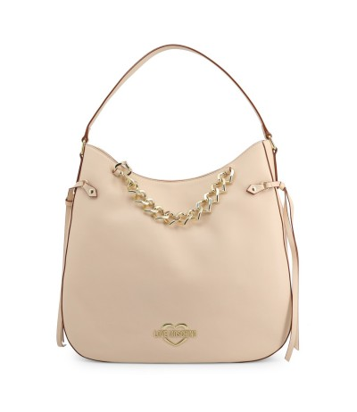 Love Moschino heart-chain hobo bag