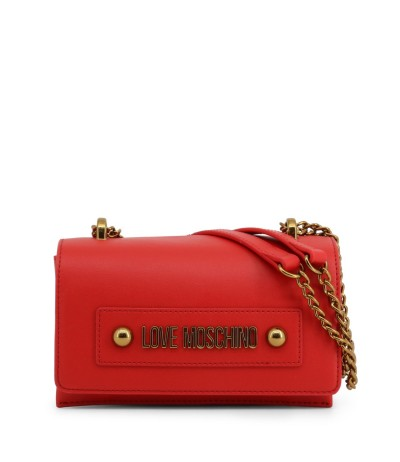 Love Moschino Eco Leather Mini Bag with shoulder Chain Strap