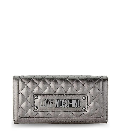 Love Moschino Love Moschino  Shiny Quilted Crossbody Clutch