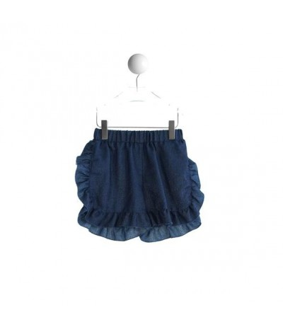 Baby Cross shorts in lurex