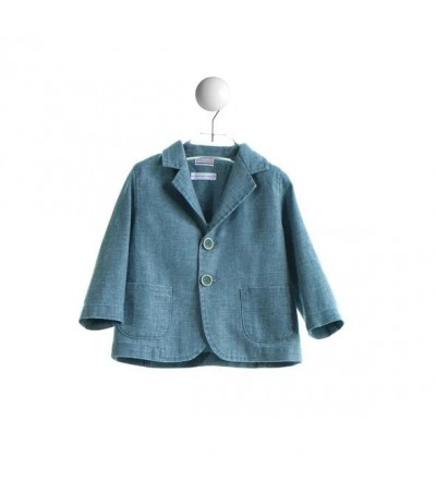 Baby Cross Boys linen jacket
