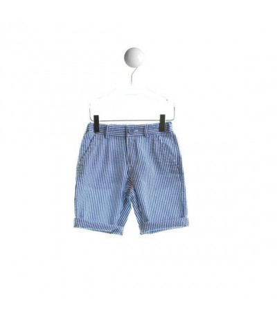 Baby Cross Striped Boys Shorts