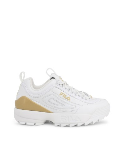 Fila DISRUPTOR LOW SNEAKERS in white