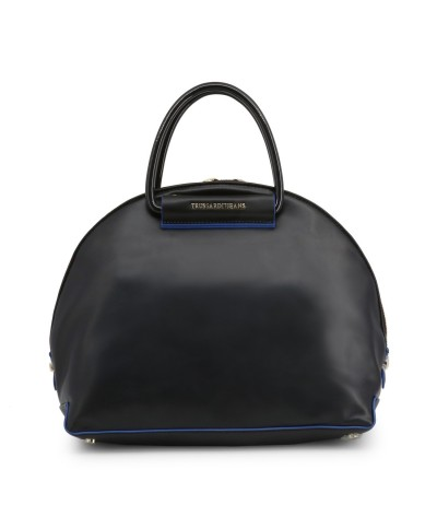 Trussardi  Top Handle Bowling Bag - Black