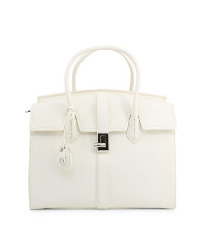 Trussardi  Leather Satchel - White