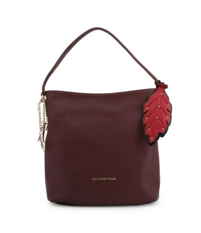 Trussardi Stylish bag Decorated  leaves