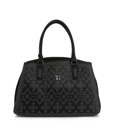 Trussardi Black Women's bag with stud details