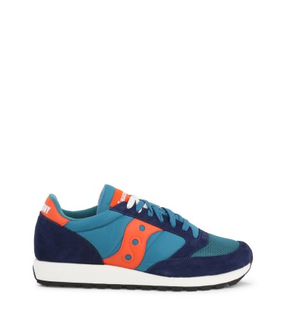 Saucony Blue Fabric Sneakers