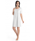 Cotton Deluxe Short-sleeved Nightdress