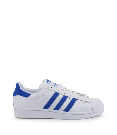 Adidas  Superstar Sneakers with Suede Details